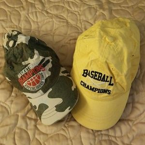 Baseball Hats for 18-24 mth, buy one get one free